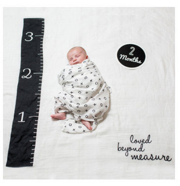 Baby's First Year Blanket & Cards Set - Loved Beyond Measure #22313