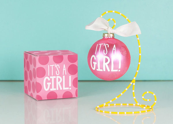 ORNAMENT, IT'S A GIRL