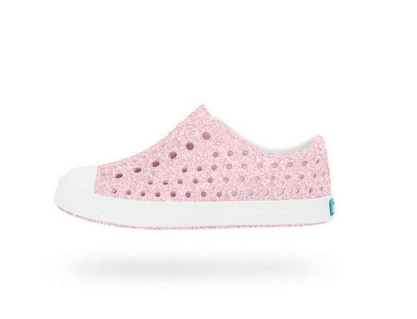NATIVE JEFFERSON MILK PINK BLING AND SHELL WHITE #21794