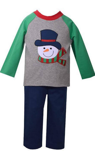 SNOWMAN 2PC BOYS SET