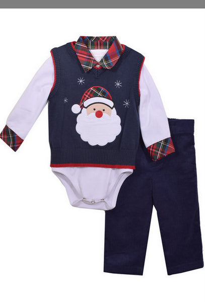 BOYS 3PC SANTA SET