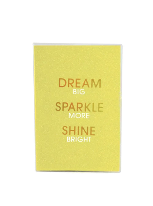 JOURNAL-DREAM, SPARKLE, SHINE