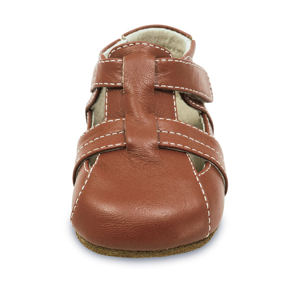 CAPTAIN, LIGHT BROWN BABY SHOE #21617 #21693