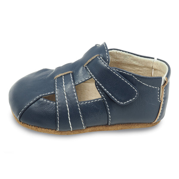 CAPTAIN, NAVY BABY SHOE #21617 #21693