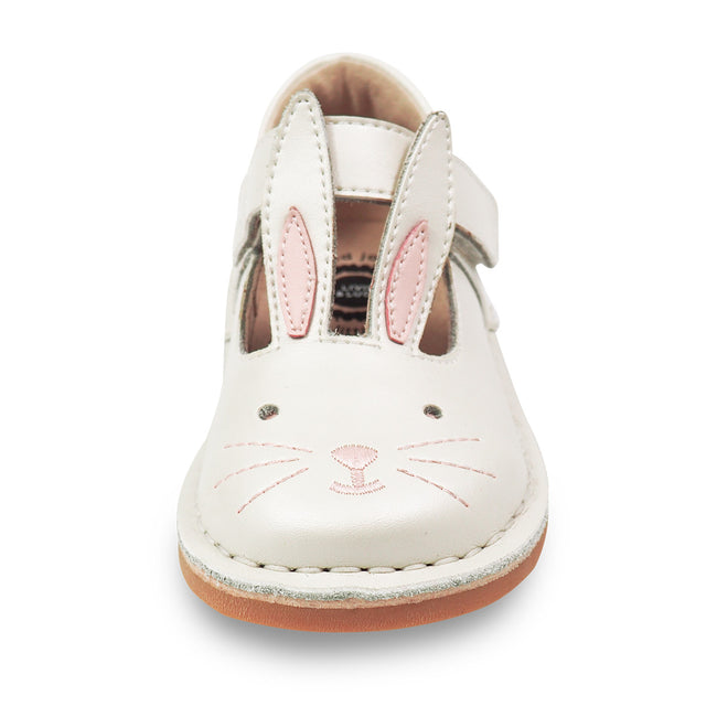 MOLLY LEATHER SHOE IN WHITE PEARL #19814