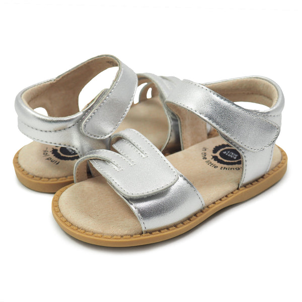 ATHENA SANDAL IN PLATINUM