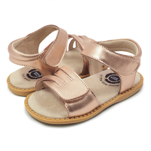 ATHENA SANDAL IN ROSE GOLD #21690