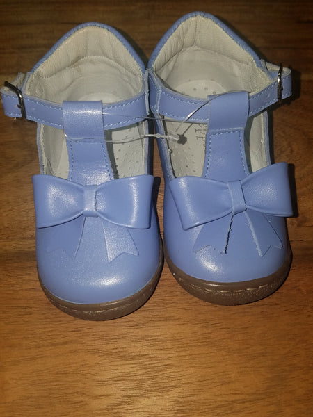 LIGHT BLUE T-STRAP MARY JANE #3002LBS