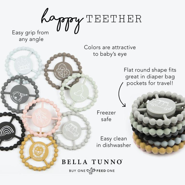 BELLA TUNNO I DON'T WORK HERE HAPPY TEETHER