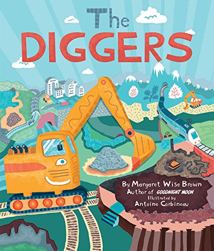 THE DIGGERS BY MARGARET WISE BROWN (Hardback)