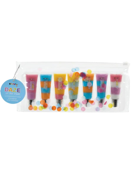 DAYS OF THE WEEK LIPGLOSS SET