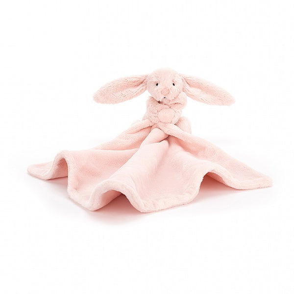 BASHFUL BLUSH BUNNY SOOTHER BY JELLYCAT