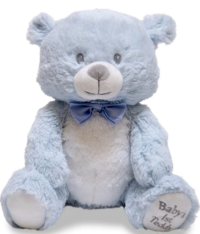 BABY'S 1ST LULLABY TEDDY (PINK OR BLUE)