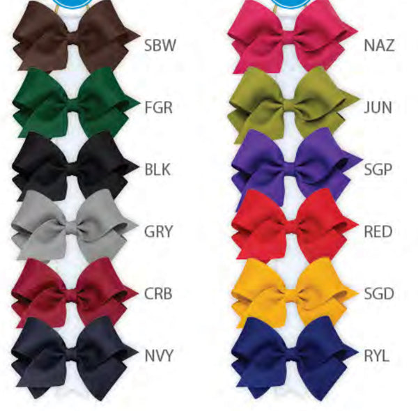 WEE ONE'S KING GROSGRAIN BOW #KB