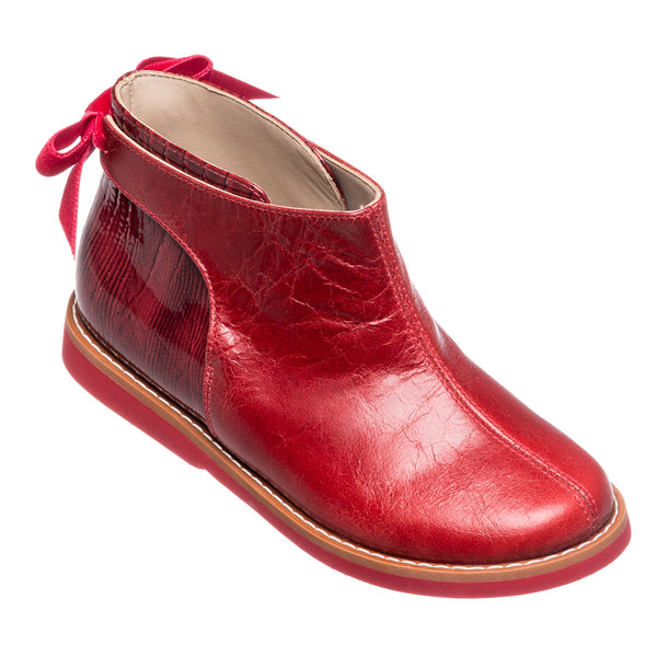 ELEPHANTITO ANNABELLE BOOTIE IN RED