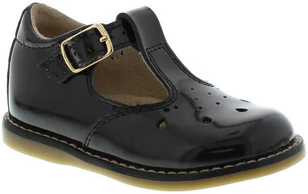 SHERRY BLACK PATENT MARY JANE BY FOOTMATES #21259