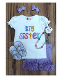 BIG SISTER APPLIQUÉ T-SHIRT