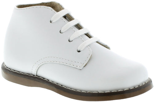 FOOTMATES WHITE BOOTIE #21527