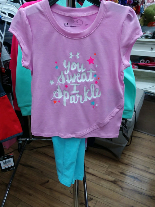YOU SWEAT I SPARKLE 2PC SET
