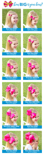 WEE ONE'S FAUX LEOPARD PRINT GROSGRAIN OVERLAY BOW AND BABY BAND #9717 #9719-1