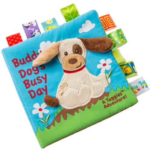 TAGGIES SOFT BOOK, BUDDY DOG