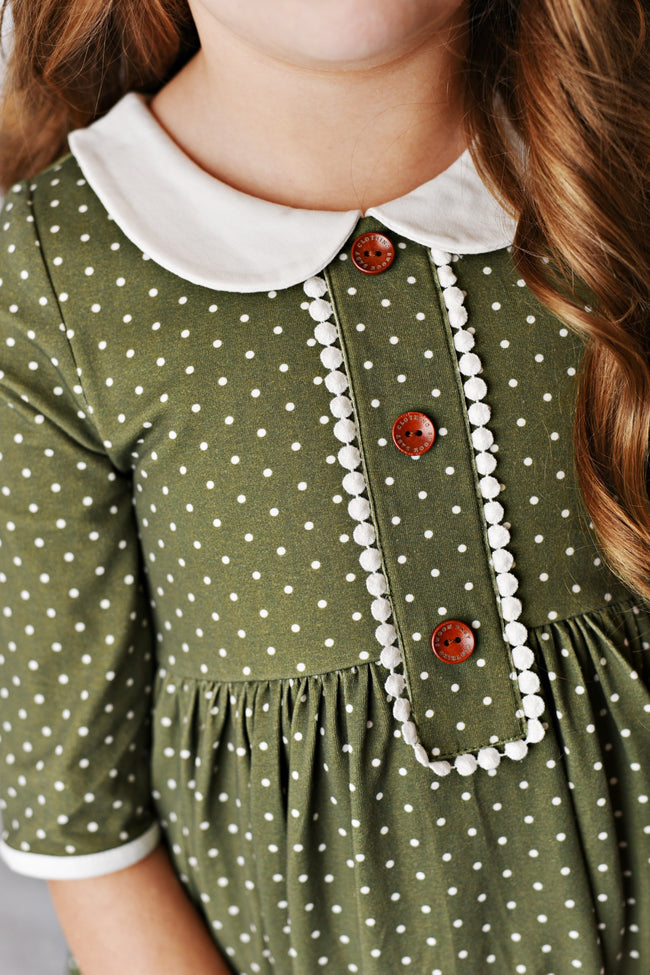 CHARLOTTE PETAL DOTTIE DRESS #204120