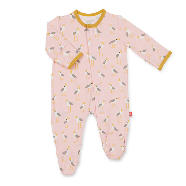 PINK PLOVERS MODAL MAGNETIC FOOTIE