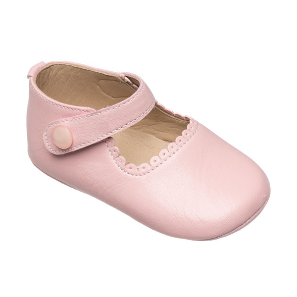 ELEPHANTITO BABY MARY JANES IN PINK