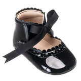 ELEPHANTITO BABY SABRINAS IN BLACK PATENT LEATHER