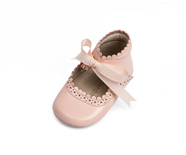 ELEPHANTITO BABY SABRINAS IN PINK PATENT LEATHER