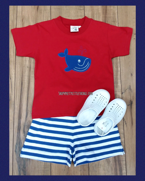 WHALE 2PC SHORT SET  #202192