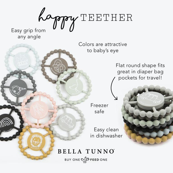 BELLA TUNNO SHOT CALLER HAPPY TEETHER