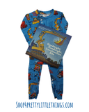 GOODNIGHT CONSTRUCTION SITE PAJAMA & BOOK SET