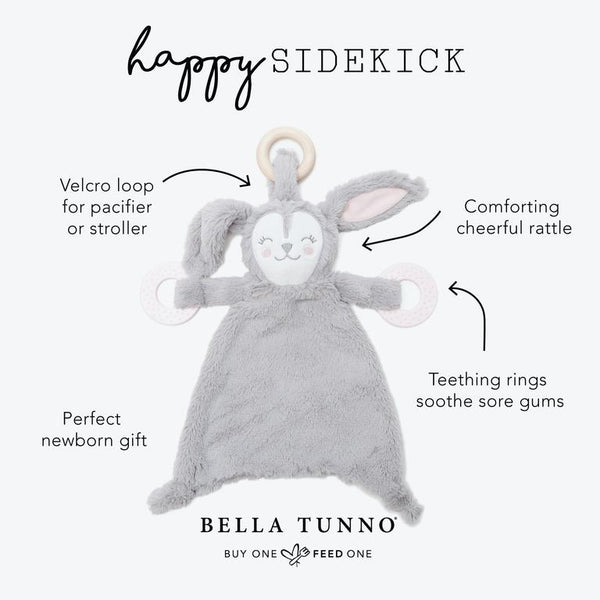 BELLA TUNNO RUTHIE ROO SIDEKICK PLUSH TEETHER