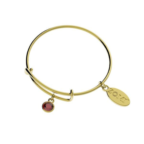 BIRTHSTONE BRACELET IN GOLD