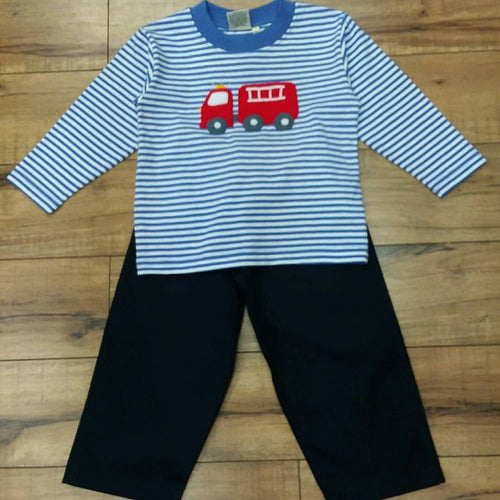 FIRETRUCK 2PC PANT SET BY LUIGI