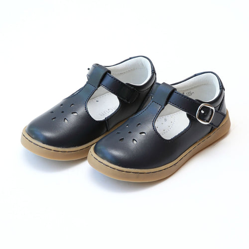 CHELSEA SPORTY T-STRAP MARY JANE IN NAVY #19720N