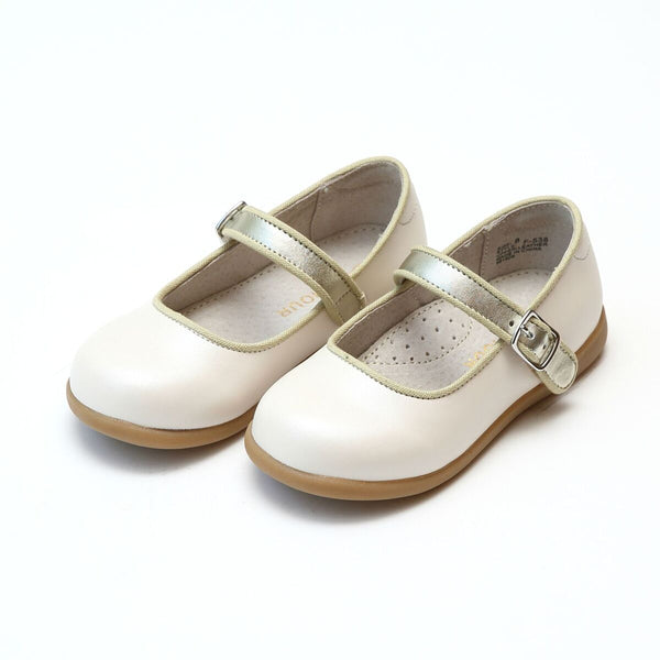 OLGA MARY JANE IN PEARL WHITE #19538W