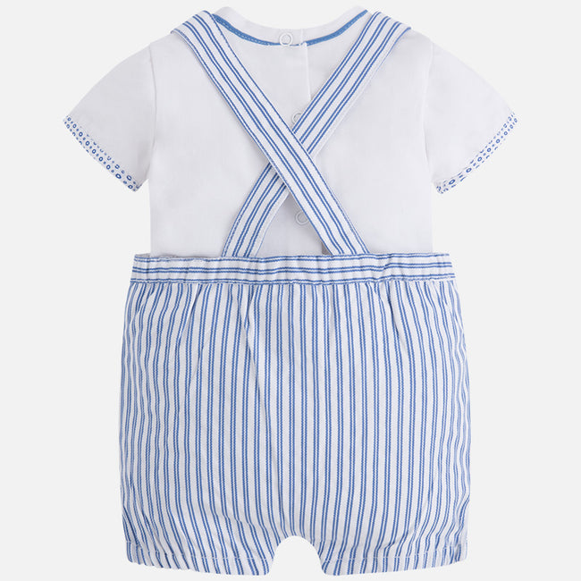 MAYORAL STRIPED JUMPER SET IN RIVER BLUE #21704