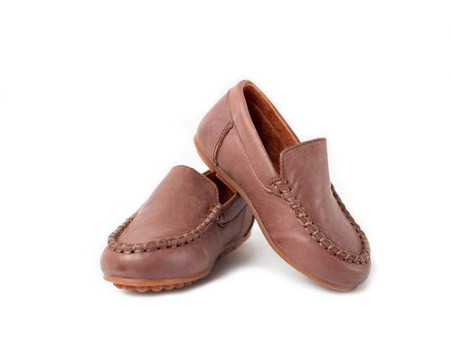 CLASSIC LOAFER IN CHOCOLATE #1019A