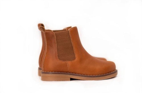 CHELSEA BOOT IN CARAMEL