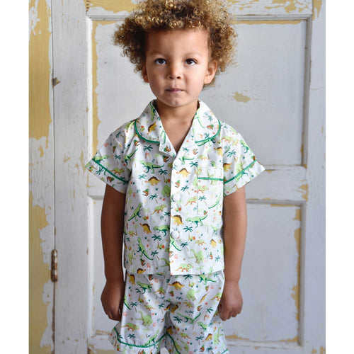 DINOSAUR 2PC COTTON PJ SET