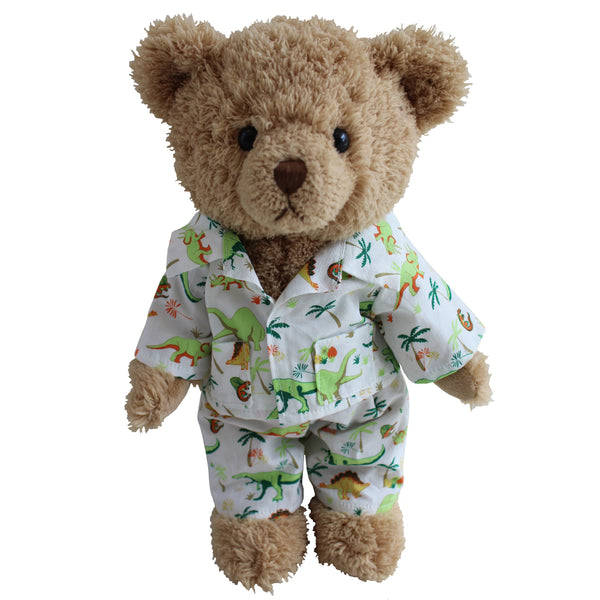 TEDDY BEAR IN DINOSAUR PJS