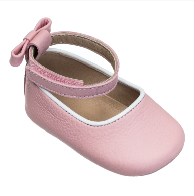 ELEPHANTITO BABY BALLET FLATS IN PINK