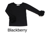 ICING TOP IN BLACKBERRY BY BE GIRL