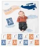 Baby's First Year Blanket & Cards Set- Greatest Adventure #22591