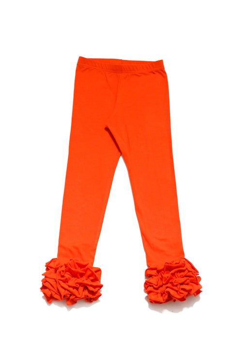 TANGY TANGERINE ICING LEGGINGS BY BE GIRL