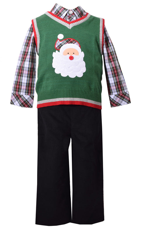SANTA SWEATER 3PC SET 2PC #22350A