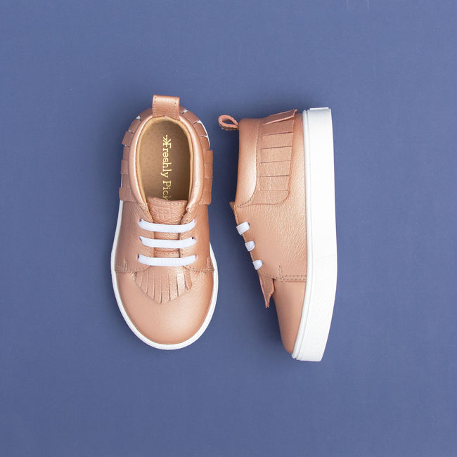 ROSE GOLD SNEAKER MOCC BY FRESHLY PICKED