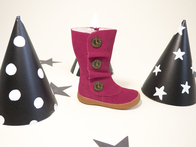 LIVIE & LUCA, TIEMPO BOOT IN FUCHSIA